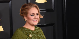 Adele at the Grammy Awards in 2017.