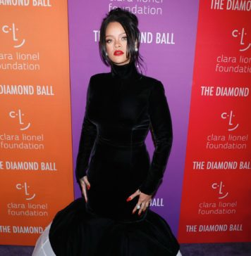 Rihanna at the 5th Annual Clara Lionel Foundation Diamond Ball in 2019.
