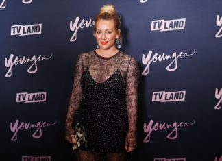"""Hilary Duff at the TV LAND Season 5 Premiere Event for """"Younger"""" in 2018."""